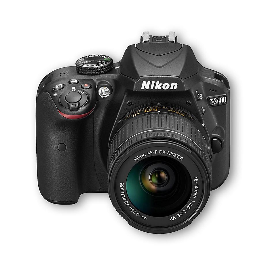 Cámara Nikon D3400 Redcard