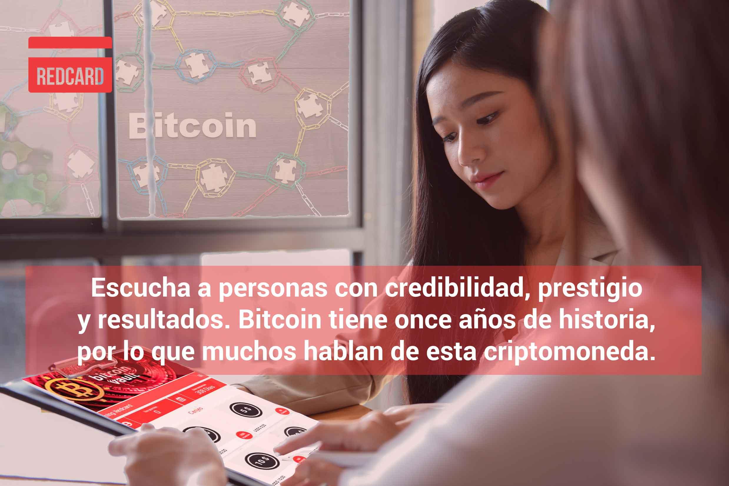 Qué hace Redcard para poder minar bitcoin vault
